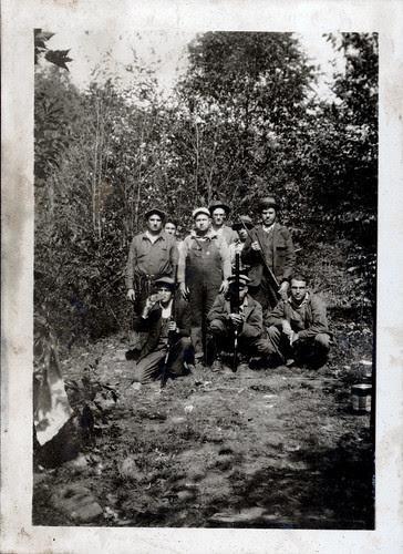 Nine men with guns