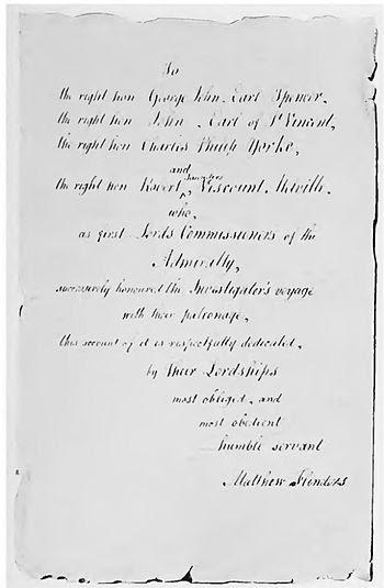 The Life Of Captain Matthew Flinders R N Chapter 27