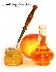 Honig und Apfelessig