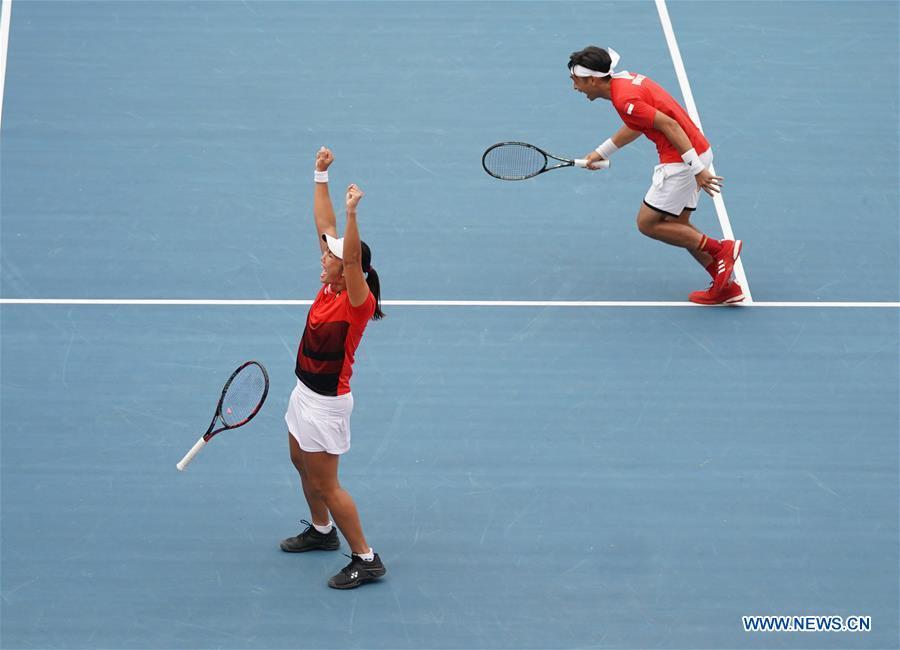 (SP)INDONESIA-PALEMBANG-ASIAN GAMES-TENNIS-MIXED DOUBLES