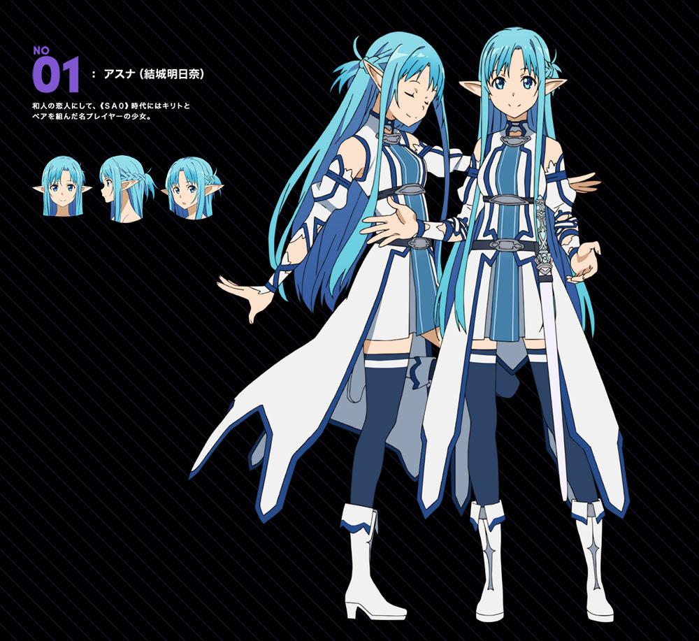 Sword-Art-Online-II-Mothers-Rosario-Arc-Character-Design-Asuna