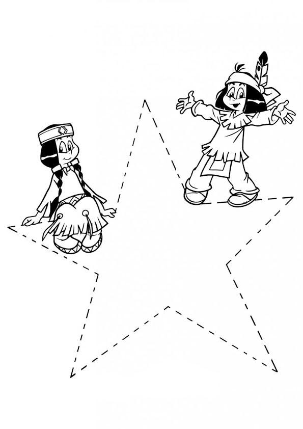 kostenlose ausmalbilder yakari  kinder zeichnen und ausmalen