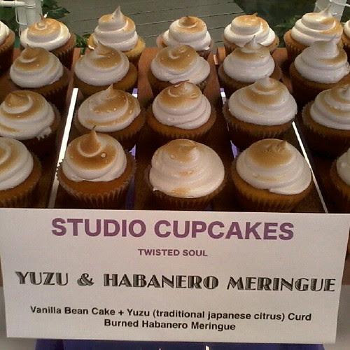 Yuzu and Habanero Cupcakes