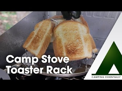 Camping videos from Camco: Toaster Rack, Folding Shovel & Egg Carriers