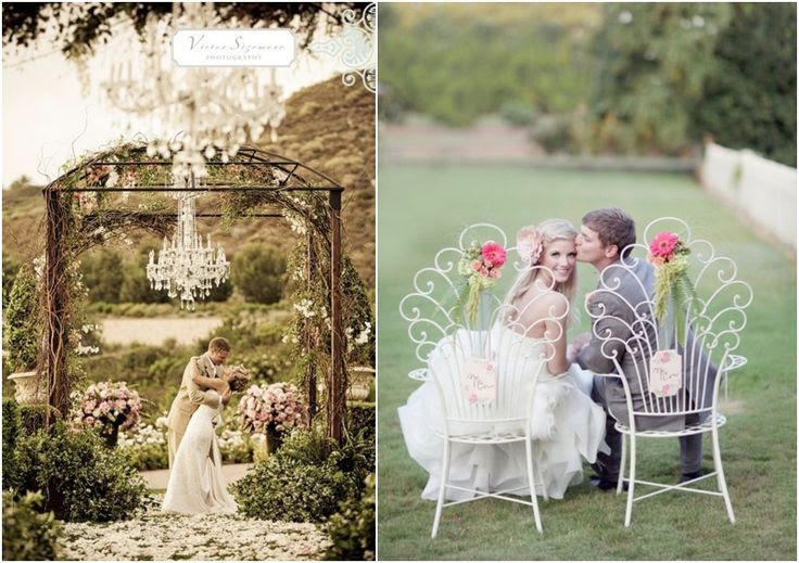 Arbor Decoration Outdoor Wedding Ceremony