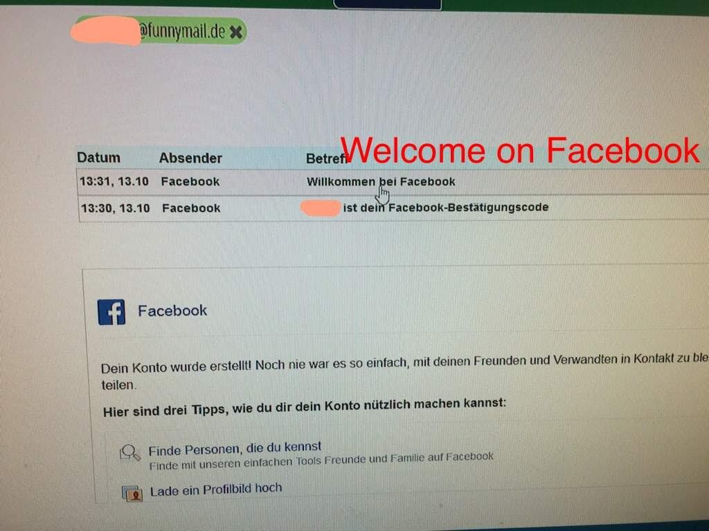 Facebook Lade Ein Foto Von Dir Hoch - Rafinovier