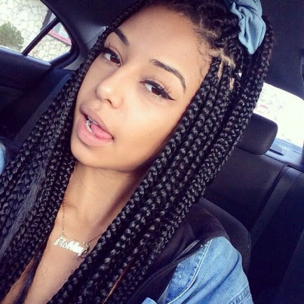 Fabulous Long  Box  Braids  Hairstyles  Hairstyles  2019
