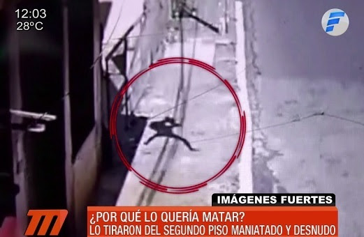 Resultado de imagen para hombre se lanzó del balcón, pero no para suicidarse py