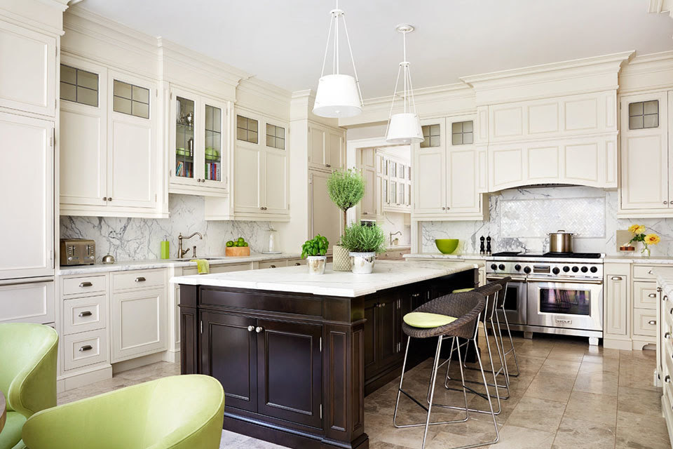 12 Luxury All-white Kitchens With a Tasteful Attention to ...