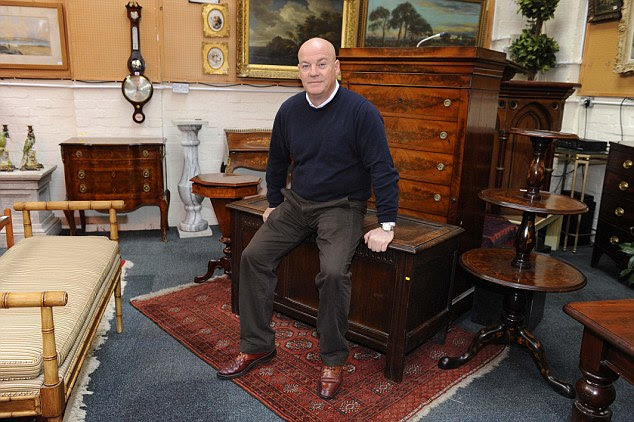 Tom Keane, an antiques expert who has appeared on Cash in the Attic and Bargain Hunt, had his business plundered by raiders wearing balaclavas