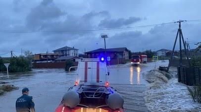 В Анапе пять санаториев и здравниц подтоплены из-за дождей