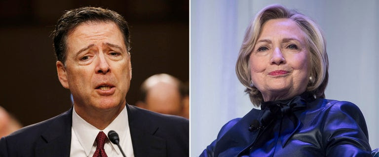 Ex-FBI director's remarks on Clinton probe were watered down, documents show