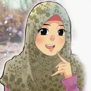 gambar kartun muslimah cantik islamwiki