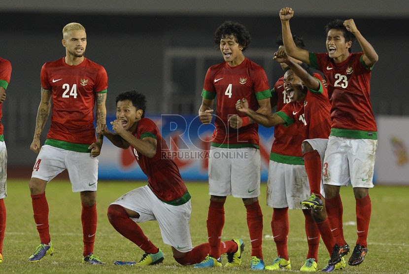 Timnas U23 Lolos ke Final SEA Games 2013  Republika Online
