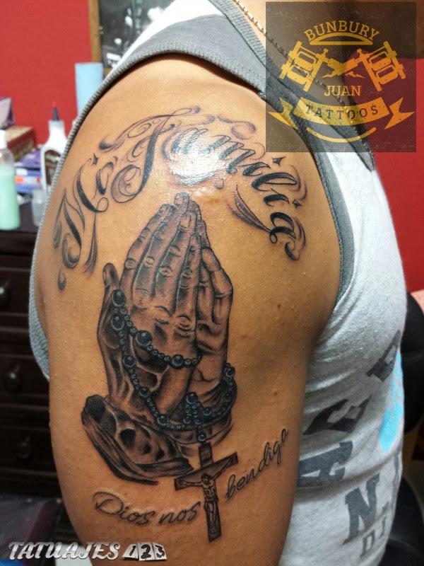 Manos Rezando Tatuajes 123