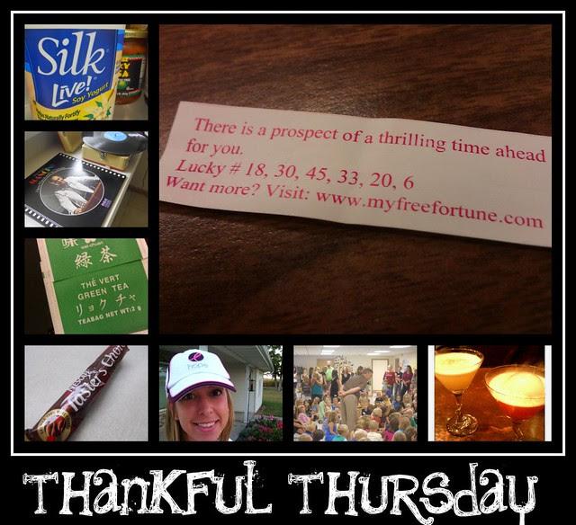 Thankful Thursday Sept 15