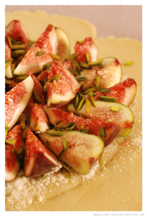Fig and Pistachio Galette© by Haalo