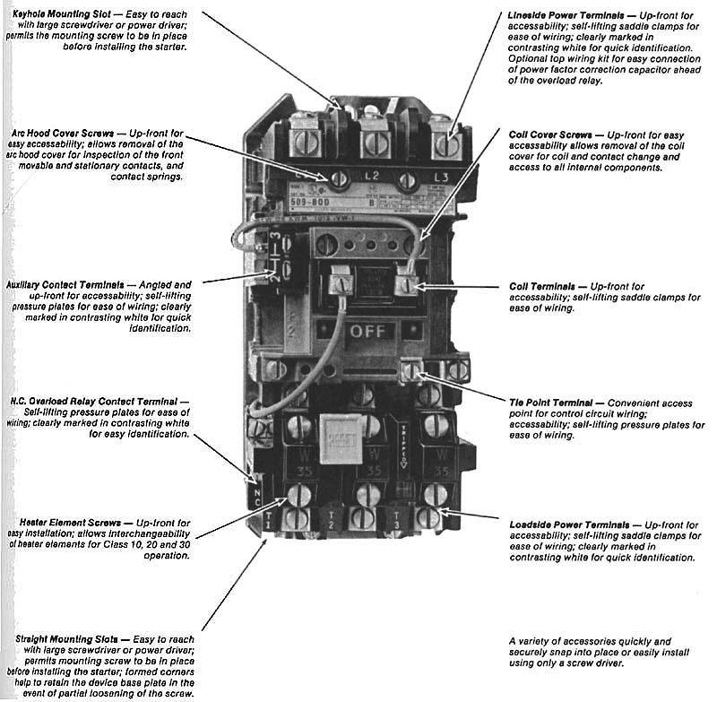 30 Nema Size 1 Starter Wiring Diagram