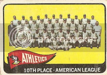 #151 Athletics Team Card