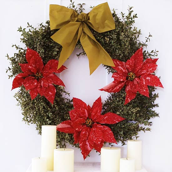 Indoor Blooming Wreath