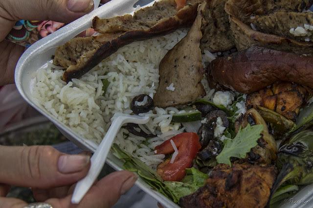 Downey Farmer's Market lunch