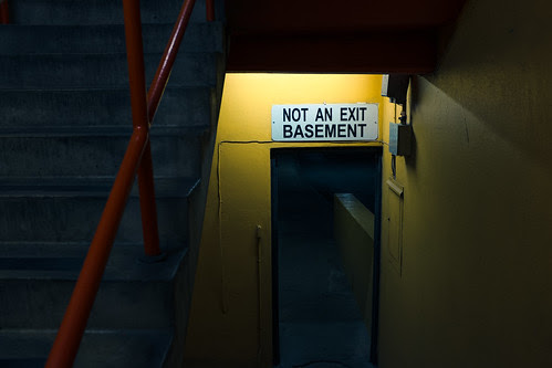 Not An Exit Basement by Jesse Acosta