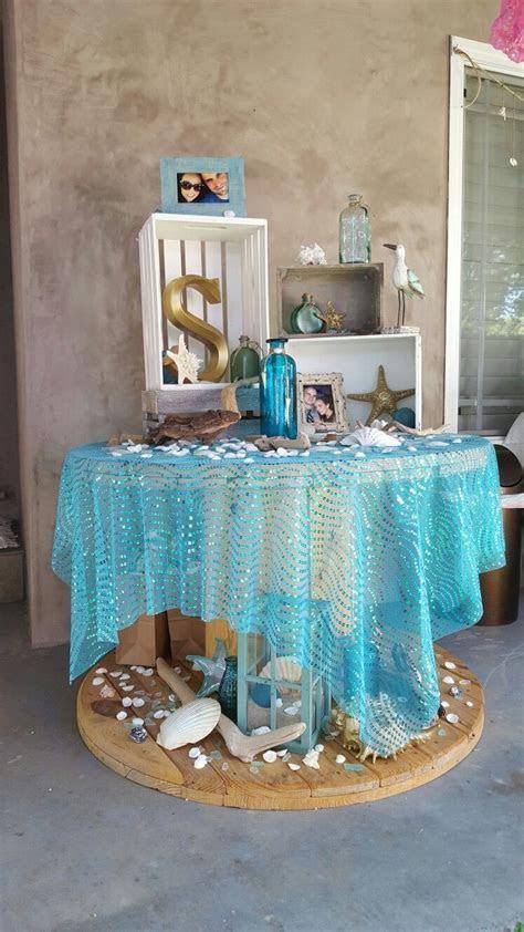 beach bridal shower theme   ideas & decorations   Ariels