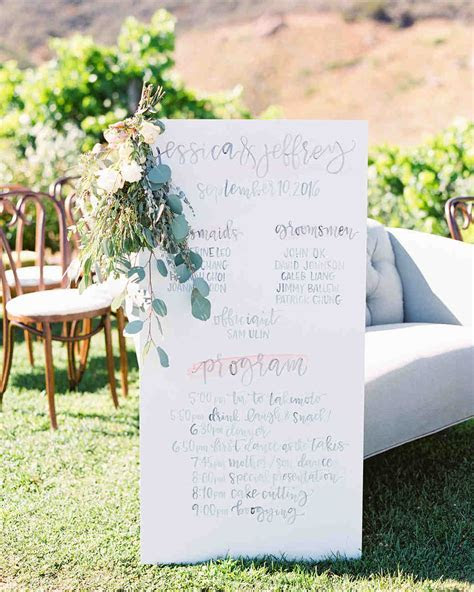45 Perfect Wedding Ceremony Programs   Martha Stewart Weddings