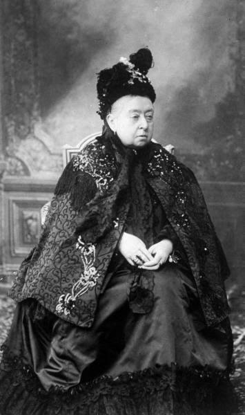 Королева Виктория, 1900 г