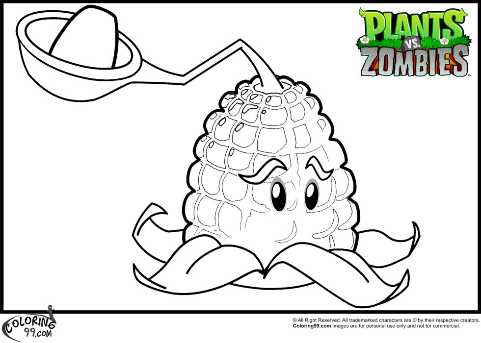8500 Top Plants Vs Zombies Coloring Pages Pdf Download Free Images