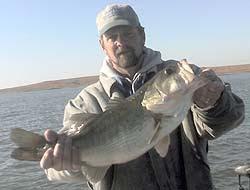 Sooner Lake Oklahoma largemouth bass