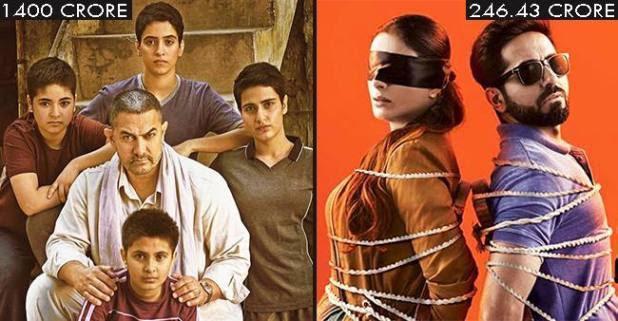 Aamir starrer Dangal to Ayushman's AndhaDhun: 5 Bollywood movies that rake in big moolah in China