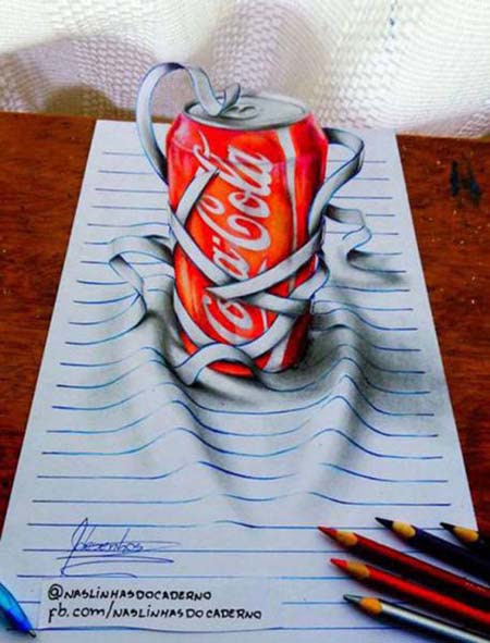 Απίστευτη 3D τέχνη σε χαρτί από έναν 17χρονο (5)