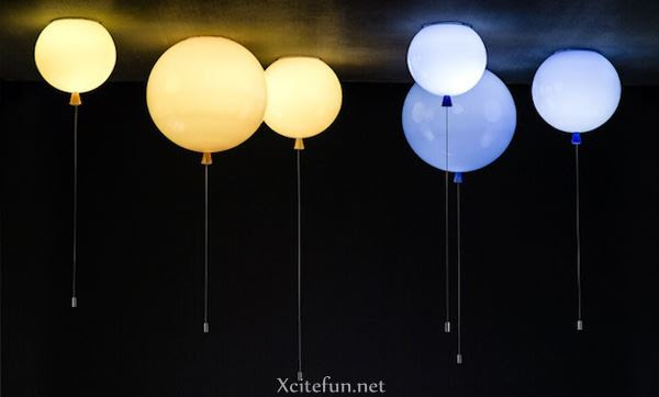 Inspiring Balloon Home Lighting Ideas : Art, Design