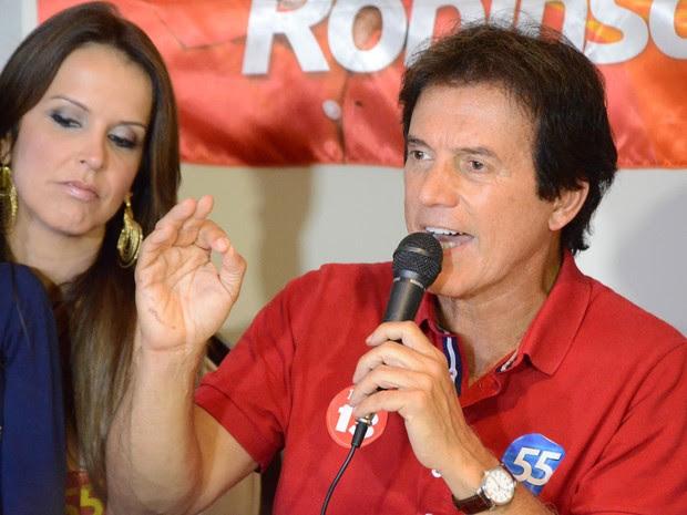 Robinson Faria, do PSD, é eleito governador do Rio Grande do Norte (Foto: Frankie Marcone/Futura Press)