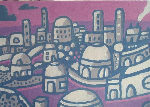 Purple Pink Town
