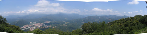 Panoramica dal Monte Fenera