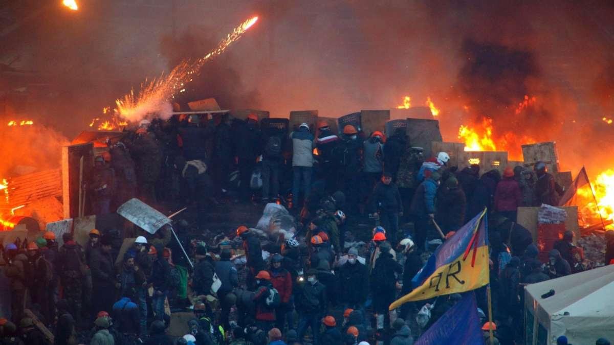 Допрос гетьмана Януковича украинским судом