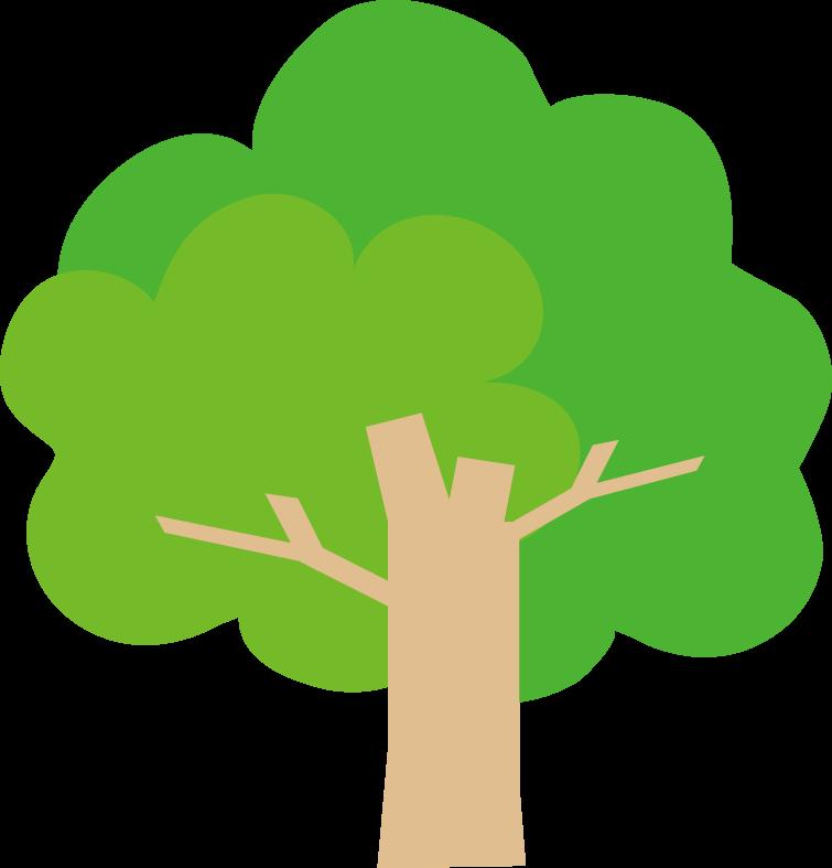 木のイラスト挿絵無料イラスト