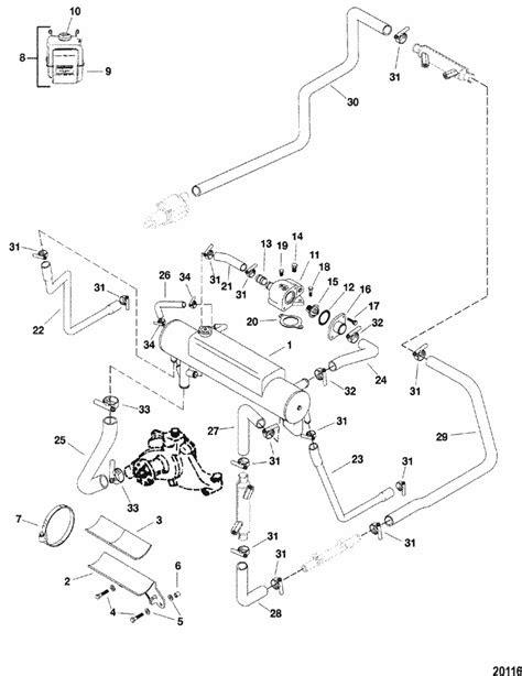 MerCruiser 454 Mag. MPI Bravo (Gen. VI) GM 454 V-8 Closed