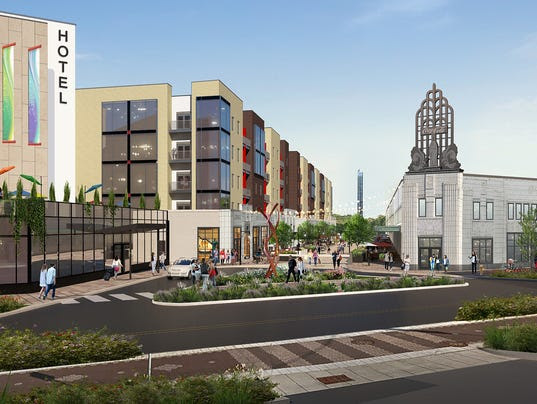Indy Square rendering