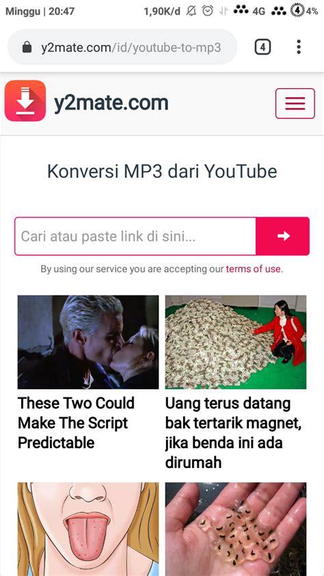 mudah  lagu  youtube lewat hp android