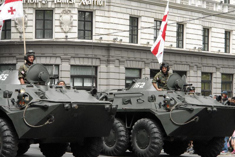 Image:Georgian BTR-80s.jpg