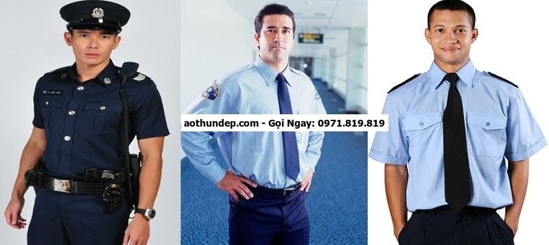 may đồng phục bảo vệ