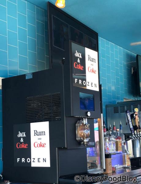 Drop Off Pool Bar Rum and Coke