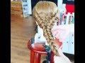 Kızlar için cool ve sıradışı güzel bir saç modeli