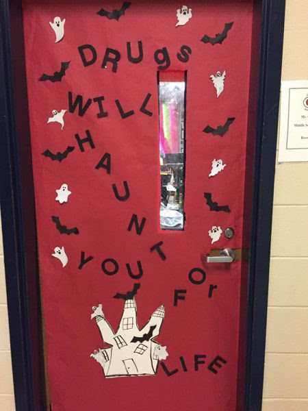 Red Ribbon Week Door Decorating Contest Greenville Middle School