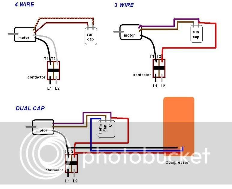 Dayton Condenser Fan Motor Wiring Diagram - Wiring Diagram