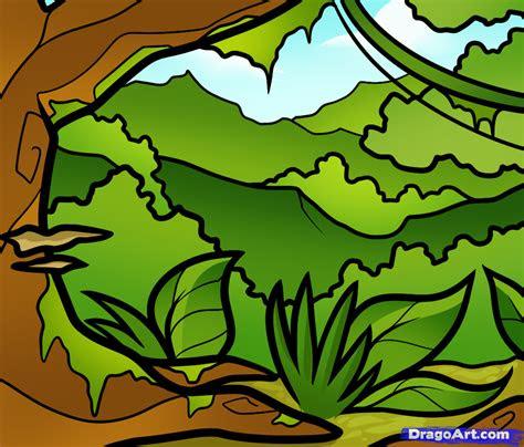 draw  jungle  kids crafts art drawing