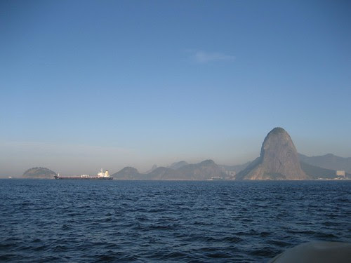 Rio arrival sugarloaf